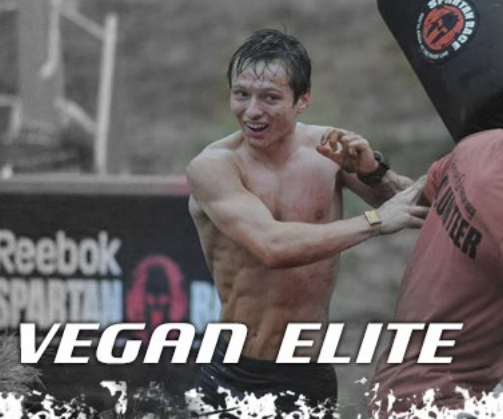 Alec Blenis is the OCR Vegan Elite