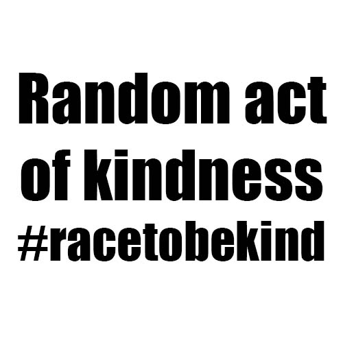 It's no OBSTACLE to do a random act of kindness.