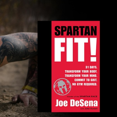 Spartan Fit Book by Joe DeSena – SAVE 25%