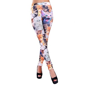 Crazy Cat Lady OCR Leggings