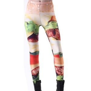 Have it Your Way Burger Leggings