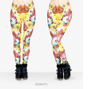 Donuts for Days Fun Leggings